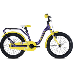 s'cool niXe alloy 18 Enfant, purple metalic /yellow